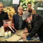 مراسم ترحیم بهمن کشاورز وکیل دادگستری با حضور چهره ها