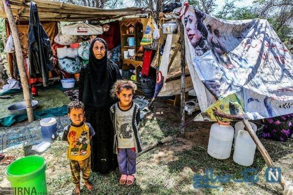 مردم سیل زده خوزستان