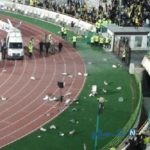 درگیری شدید هواداران پرسپولیس و سپاهان در استادیوم آزادی تهران