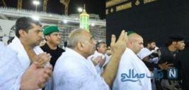 نخست وزیر عراق در حال زیارت خانه خدا در مکه