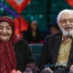 اهدای نقاشی جمشید مشایخی به خانواده اش