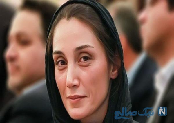 چهره هدیه تهرانی در مناطق سیل زده