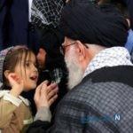 هدیه ای خاص از طرف رهبر به همسر شهید مدافع حرم