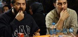 تیپ هومن سیدی و جواد عزتی در جشنواره جهانی فجر