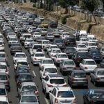 وضعیت جاده ها با فرا رسیدن تعطیلی نیمه شعبان