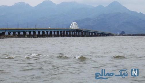 وضعیت دریاچه ارومیه بعد از بارندگی های اخیر در کشور