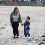 تصاویری جالب و دیدنی از پدر شدن کوتاه قدترین مرد