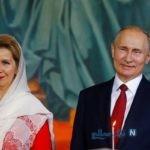 مراسم مذهبی عید پاک با حضور پوتین رئیس جمهور روسیه + تصاویر