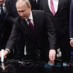افتتاح کارخانه مرسدس بنز آلمان در روسیه با حضور پوتین
