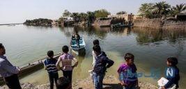 تصویری از کلاس شناور در خوزستان