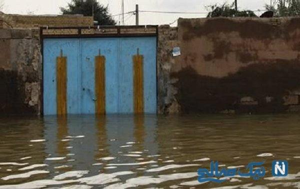 کمک دانش آموز عراقی به سیل زدگان ایران + عکس