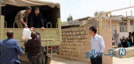 تداوم کمک رسانی به مردم سیل زده کشور