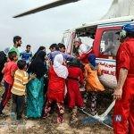 امدادرسانی به مناطق سیل زده خوزستان + تصاویر
