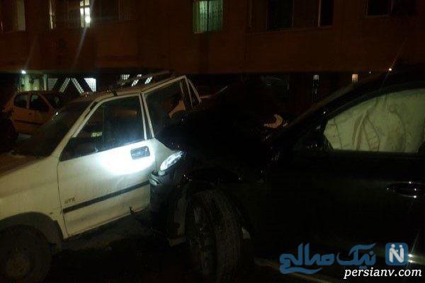 اعلامیه ترحیم پراید سوار حادثه عجیب تصادف در اصفهان