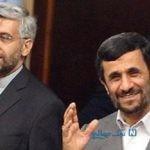 خنده احمدی نژاد و سعید جلیلی در یک جلسه +عکس