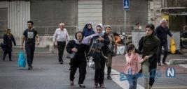 تصاویری از طوفان و باد شدید تهران