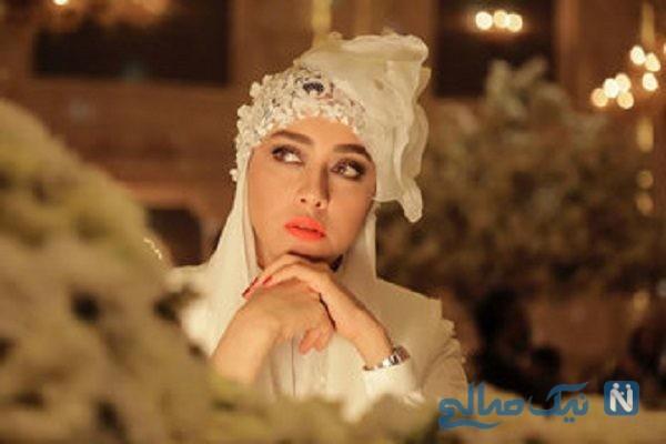 بهاره کیان افشار در لباس عروس