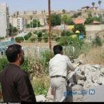 تخریب ساختمان غیر مجاز در مسجد سلیمان + تصاویر