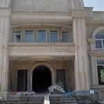 تخریب ویلای غیر قانونی ۱۳۰۰ متری در رشت + تصاویر