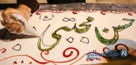 کیک ۱۰۰ متری قمی ها در شب میلاد امام حسن مجتبی + تصاویر
