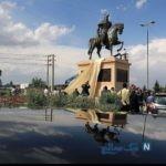 مجسمه های رستم در مشهد رونمایی شد + تصاویر