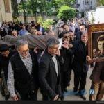 مراسم تشییع ابراهیم سلطانی فر با حضور سینماگران + تصاویر
