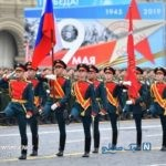 تصاویری جالب از مراسم رژه روز پیروزی با حضور پوتین