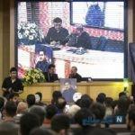 مراسم یادبود بهنام صفوی در تهران با حضور هنرمندان + تصاویر