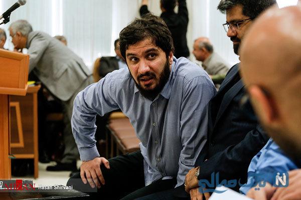 هادی رضوی داماد وزیر و متهمان بانک سرمایه در دادگاه + تصاویر