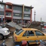 تصاویری از خسارات طوفان در کربلا + تعداد مصدومان و کشته شدگان