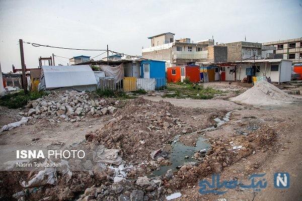 وضعیت زندگی مردم سرپل ذهاب ۱۹ ماه بعد از زلزله + تصاویر