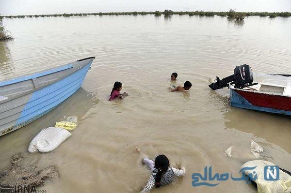 بازگشت زندگی به دریاچه هامون در سیستان و بلوچستان + تصاویر