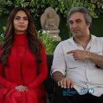 حمید فرخ نژاد و بازیگران هندی روی پوستر فیلم دختر شیطان