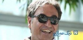 حمید فرخ نژاد در کنار بازیگر زن خارجی در فیلم سینمایی دختر شیطان