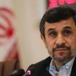 ژست جدید احمدی نژاد در مقابل دوربین + عکس