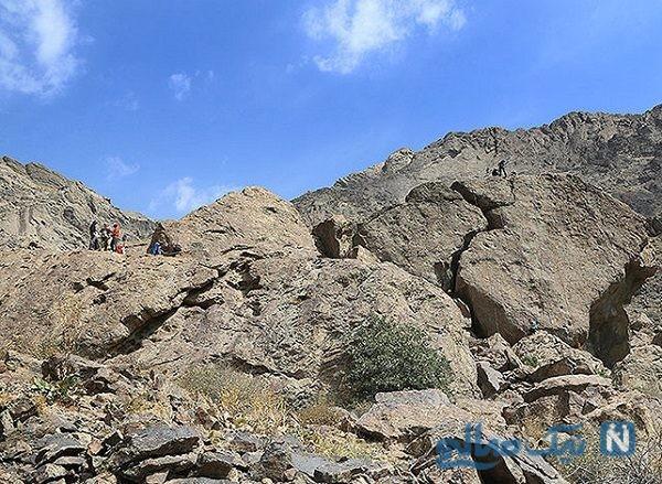 تصاویری از کشف جمجمه انسان از ارتفاعات دربند تهران