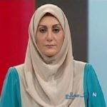 تیکه سنگین گوینده شبکه خبر خانم حسنی دخت به صدا و سیما