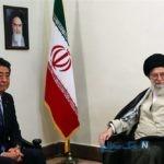 انمیشین جالب از نخست وزیر ژاپن و نامه اش در دیدار با رهبر+فیلم