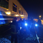 برخورد شدید قطار مسافربری با موتور در شاهرود جان دو نفر را گرفت+تصاویر