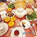 تصاویری جالب و دیدنی از بزرگترین میز افطار جهان