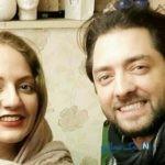 تبریک صمیمانه بهرام رادان بازیگر ایران به مناسبت تولد مهناز افشار