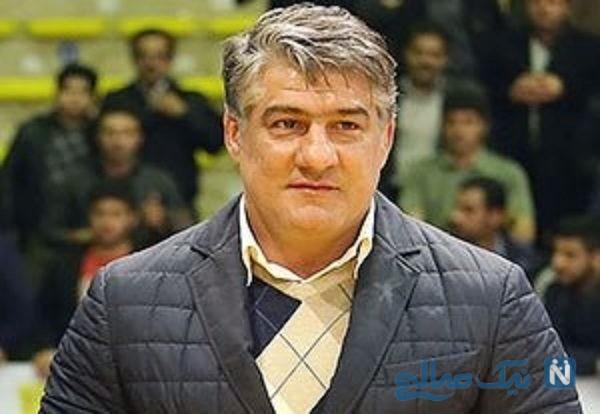 تصادف عجیب و خطرناک علیرضا حیدری ورزشکار ایرانی در کاشان