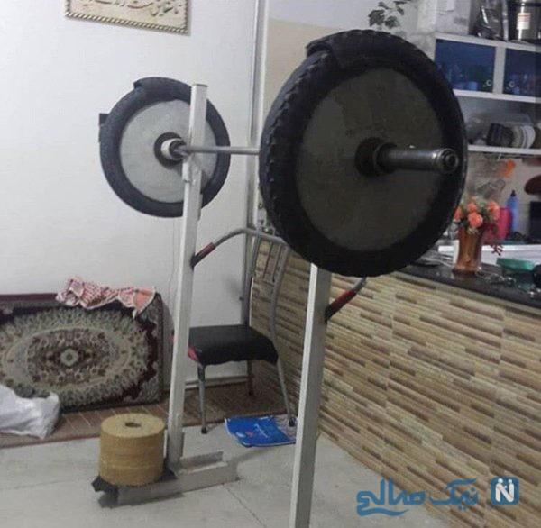 وزنه بردار ایرانی