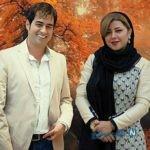 تیپ جدید شهاب حسینی و همسرش در یک گالری