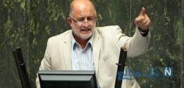 تیپ نادر قاضی پور روبروی تریبون مجلس سوژه شد!