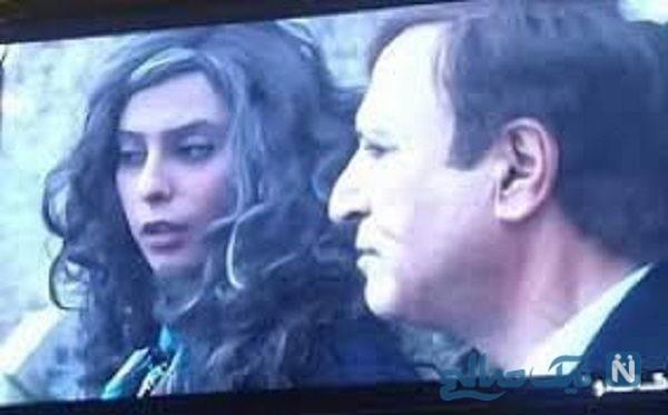 توضیح شبکه سه درباره حضور بازیگر بی حجاب در گاندو