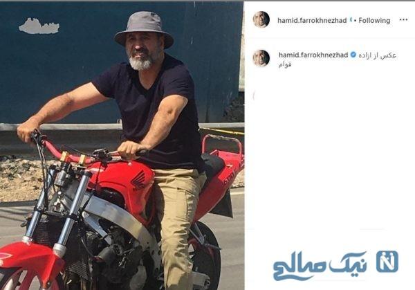 حمید فرخ نژاد بازیگر سینما