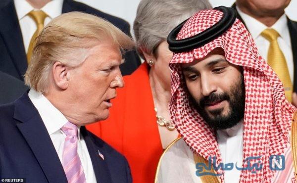 ترامپ و بن سلمان