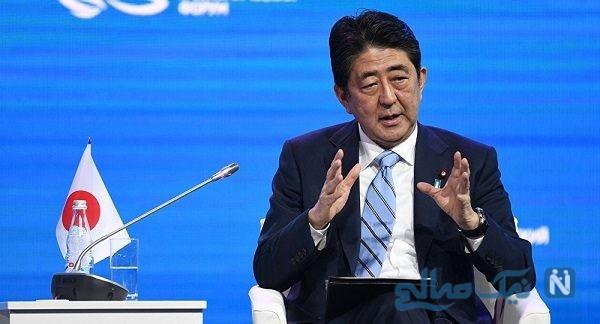 هدیه دانشجویان مستقل به نخست وزیر ژاپن در سفر به ایران+عکس