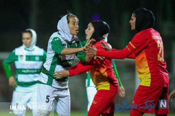 تصویری جذاب از خوشحالی دختران قهرمان لیگ برتر